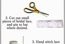 DIY Clothing and accessory tutorials / DIY projects for clothing and accessories. Get crafty and make some clothes or accessories!
