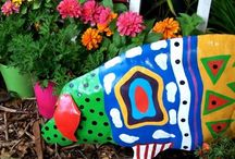 Art in the Garden / Photos of everything from classical garden decor to wacky, whimsical pieces - all adding personality to the garden.