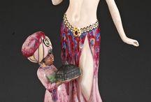Art déco figurines