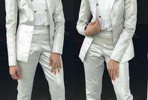 Silver pantsuit shilpa Reddy