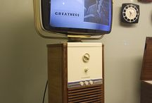 Vintage TV's Philco GE Philips Sony / Vintage - Great Design TV's USA JAPAN EUROPA