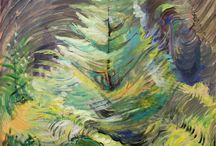 Art of Emily Carr / Canadian artist / by Kim Rivard
