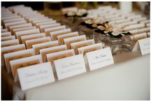Wedding Escort Card Table Ideas