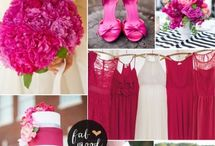 Pink wedding pallets / Pink wedding inspiration