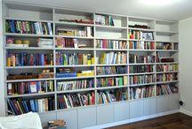 Regały na książki nasze projekty / bookshelfs our projects
