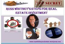 Russ Whitney's Steps For Real Estate Investment / Russ Whitney Real Estate Tips for being an Entrepreneur.
