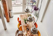 Large dining/kitchen tables