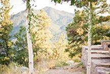 Heirat im Garten