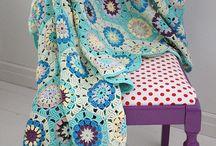Virkkaus: Peitot / Crochet: Blankets