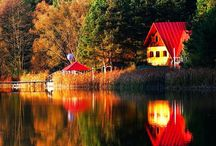Beautiful Autumn Colors in Mehedinti Mountains, Romania / Beautiful