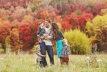 Posing Family for Photos