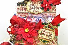 Petaloo, Graphic 45 and Zyron Christmas ideas