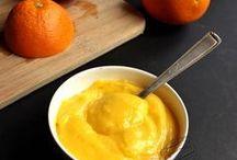 orange curde