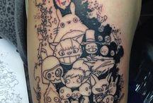 Ghibli tattoo