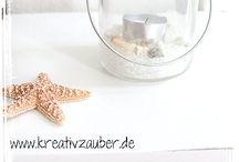 Wohndeko selber machen / Die eigenen 4 Wände schöner gestalten ★ www.kreativzauber.de