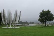 Sculptures. Field sculpturs