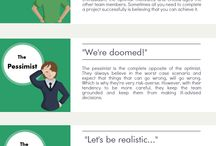 Collaboration & Teamwork / Infographics with tips for better collaboration and teamwork.  For more visit: https://www.inloox.com/