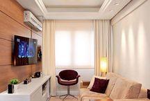 Salas pequenas e lindas / Separamos as salas mais pequenas mais lindas para você!