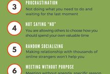 Time Wasters / Do you know your daily time wasters and how to manage them