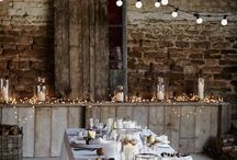 Rustic decor with light