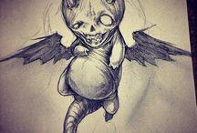 creepy style