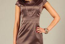 Eleganckie sukienki damskie - do pracy / Eleganckie sukienki damskie, sukienki do pracy