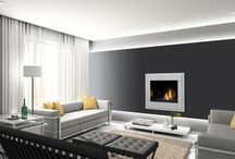 Contemporary Fireplaces Gas