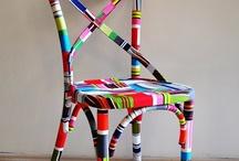 sandalye dekor