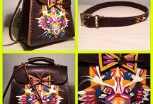 Leather bags / Сумки из натуральной кожи ручной работы