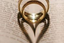 wedding rings shots
