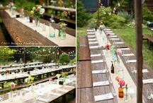 Farm to Table centerpieces