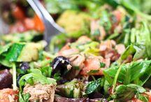 Tuna salad - hearty / Tuna