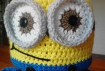 minion hats crochet