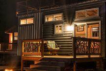 Tiny houses corrugated