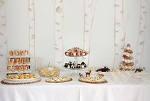 P A R T Y / Hosting a party? We've found some neat ideas for dessert tables, backdrops, place cards, table decorations and themes!