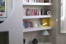 Shelves - Creative Ideas / Creative ideas on how and where to position shelves