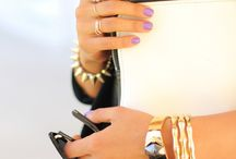 Accessories. / From arm candy to fun things on my head!