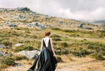 BLACK DRESS WEDDING / Black, Schwarz Kleid.