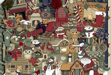 Old Town Christmas / by Touched By A Butterfly