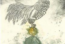 Etchings Drawings etc / Images of my own artwork