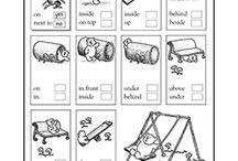 position worksheets