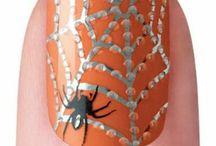 pókos körmők