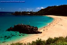Places I want to visit / Mostly beaches.... I like the beach.