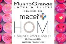 Fiera Macef HOMI / Hotel Mulino Grande - Hotel & Suites a due passi dal Nuovo Polo Fieristico.