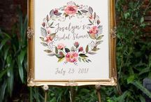 {Styled Shoot} Botanical Themed Wedding/ Bridal Shower