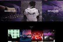 concert website design