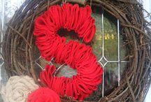 Wreaths/door hangers