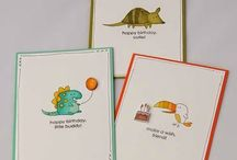 Little Buddy Birthday / Ideas for Stampin' Up!'s Little Buddy Birthday