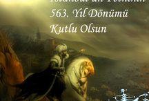 1453 İstanbul'un Fethi Kutlama