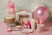 Ballet Party Girls  / This party is so beautiful ...what little girl would love a birthday like this! / by Enchanted Party- Fabulous Children's Parties